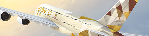 Ethad vliegtuig