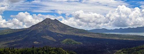 Indonesie Beklimming Batur Valkaan berg