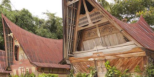 Traditionele Huizen Samosir