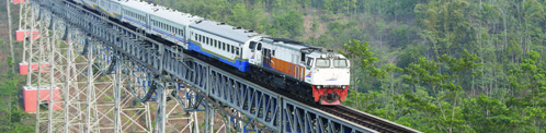Trein in Indonesië