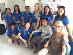 De vrijwilligers bij Stichting Kolewa