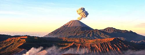 vulkaan bromo
