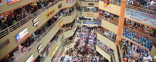 drukke winkels indonesië