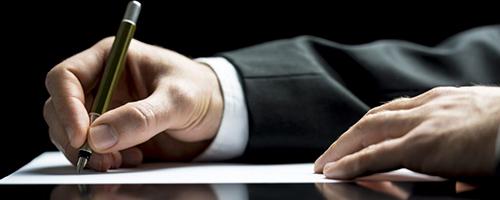 handtekening huur